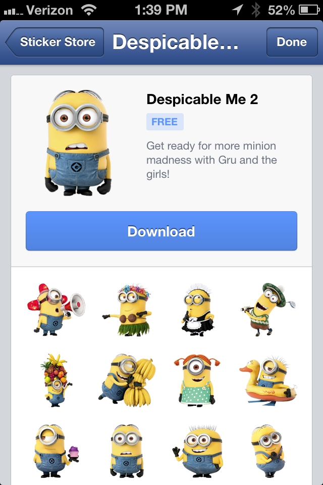 DespicableMe2Stickers